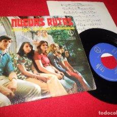 Discos de vinilo: NUEVAS RUTAS BASTA UN DIA DE LUZ/NO ME CREAS +2 EP 1974 XIAN PAULINAS AMIGOS SAINT DOMINIQUE. Lote 93171585