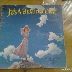 Discos de vinilo: IT'S A BEAUTIFUL DAY -IT'S A BEAUTIFUL DAY - COLUMBIA 1969 CS 9768 XSM 138934 REED. BUENAS CONDICION. Lote 93183950