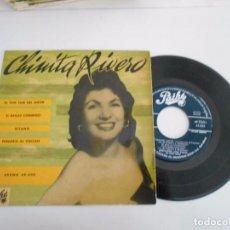 Discos de vinilo: EP DE CHINITA RIVERO EL TAM TAM DEL AMOR +3-ESPAÑOL. Lote 93188860