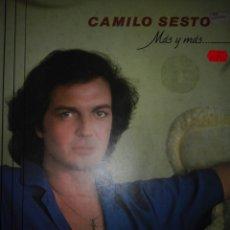 Discos de vinilo: DISCO VINILO CAMILO SESTO. Lote 93232872