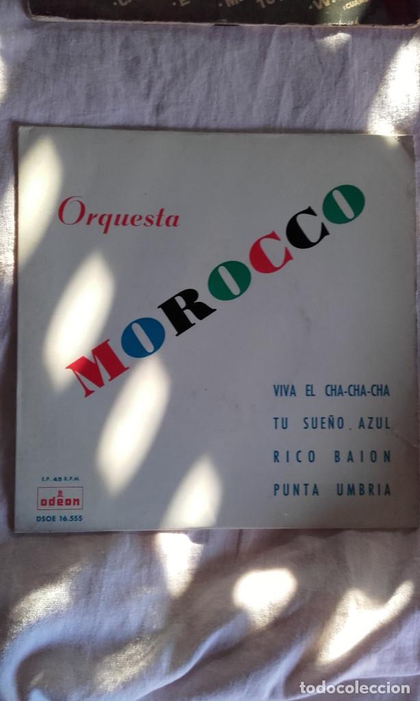 EP ORQUESTA MOROCCO VIVA EL CHA CHA CHA (Música - Discos de Vinilo - EPs - Pop - Rock Extranjero de los 90 a la actualidad)