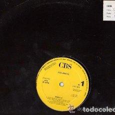 Discos de vinilo: LOS AMAYA MARYLIN / TIJERITAS: TIERRA DONDE NACI MAXI PROMO CBS 1987. Lote 93250450