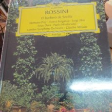 Discos de vinilo: EL BARBERO DE SEVILLA ( LIBRO + 2 CD) Nº 14 ROSSINI AÑO 2005. Lote 93252665