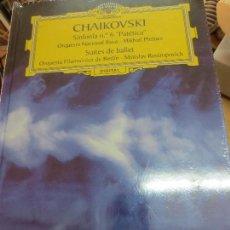 Discos de vinilo: SINFONÍA Nº 6 PATÉTICA (LIBRO+ 2 CD) Nº 29 CHAIKOVSKI AÑO 2006. Lote 93252800