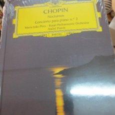 Discos de vinilo: NOCTURNOS CONCIERTO PARA PIANO Nº 2 (LIBRO+ 2 CD) Nº 20 CHOPIN AÑO 2006. Lote 93252890