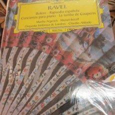 Discos de vinilo: BOLERO RAPSODIA ESPAÑOLA CONCIERTOS PARA PIANO(LIBRO+ 2 CD) Nº 37 RAVEL AÑO 2006. Lote 93252945