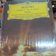 Discos de vinilo: SINFONÍAS Nº 40 Y 41 JÚPITER (LIBRO+ 2 CD) Nº 8 MOZART AÑO 2005. Lote 93253270