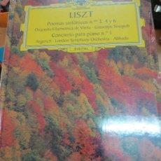 Discos de vinilo: POEMAS SINFÓNICOS Nº 3- 4 Y 6 (LIBRO+ 2 CD) Nº 21 LISZT AÑO 2006. Lote 93253355
