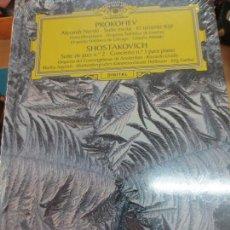 Discos de vinilo: ALEXANDR NEVSKI SUITE ESCITA PATÉTICA (LIBRO+ 2 CD) Nº 40 PROKOFIEV & SHOSTAKOVICH AÑO 2006. Lote 93253565