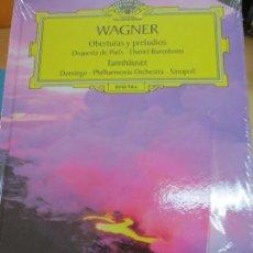 Discos de vinilo: OBERTURAS Y PRELUDIOS(LIBRO+ 2 CD) Nº 25 WAGNER AÑO 2006. Lote 93253885