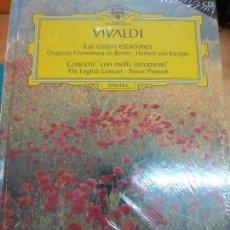 Discos de vinilo: LAS CUATRO ESTACIONES (LIBRO+ 2 CD) Nº 1 VIVALDI AÑO 2006. Lote 93254080