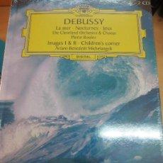 Discos de vinilo: LA MER- NOCTURNES. JEUX (LIBRO+ 2 CD) Nº 35 DEBUSSY AÑO 2006. Lote 93254190