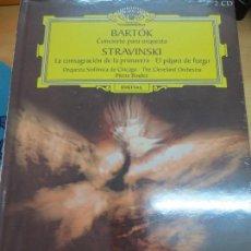 Discos de vinilo: CONCIERTO PARA ORQUESTA + LA CONSAGRACIÓN DE LA PRIMAVERA (LIBRO+ 2 CD) Nº 39 AÑO 2006. Lote 93254340