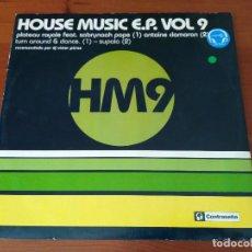 Discos de vinilo: HOUSE MUSIC E.P. VOL. 9 . Lote 93254685