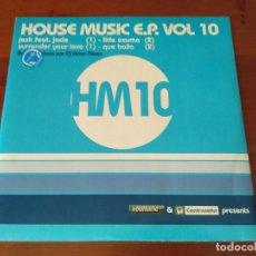 Discos de vinilo: HOUSE MUSIC E.P. VOL. 9 . Lote 93254715