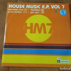 Discos de vinilo: HOUSE MUSIC EP VOL. 7 . Lote 93260860