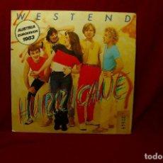 Discos de vinilo: WESTEND HURRICANE, ENGLISH VERSION/ HURRICANE, GERMAN VERSION/ AUSTRIA,1983, PROMOCIONAL, CBS ESPAÑA. Lote 93268420