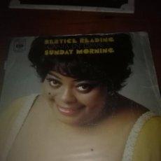 Discos de vinilo: BERTICE READING CANTA EN ESPAÑOL. SUNDAY MORNING. MB3. Lote 93270765