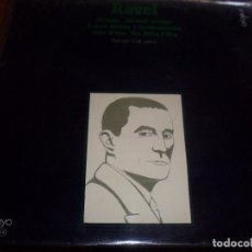 Discos de vinilo: LP DE RAVEL, AL PIANO RAMON COLL. EDICION ENSAYO DE 1969. D.. Lote 103212334