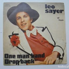 Discos de vinilo: LEO SAYER ''ONE MAN BAND'' AÑO 1974 VINILO DE 7'' ES UN SINGLE. Lote 93271425