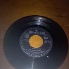 Discos de vinilo: HERMANAS PADILLA. TU LO TIENES QUE PAGAR. MIENTES. SIN FUNDA SOLAMENTE EL DISCO.. Lote 93274460