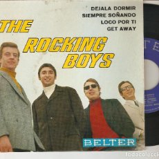 Discos de vinilo: THE ROCKING BOYS 7´ SPAIN 45 EP 1967 DEJALA DORMIR + 3 BELTER POP ROCK ESPAÑOL 1960S RARO MIRA !!. Lote 93284475