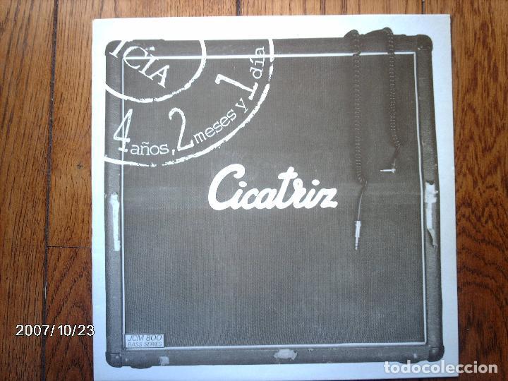 CICATRIZ - 4 AÑOS, 2 MESES Y 1 DIA (Música - Discos - LP Vinilo - Punk - Hard Core)