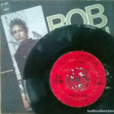 Discos de vinilo: BOB DYLAN. LIKE A ROLLING STONE/ GATES OF EDEN. CBS, COLUMBIA, USA 1965 SINGLE + COPIA DE CUBIERTA. Lote 93289505