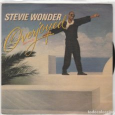 Dischi in vinile: STEVIE WONDER / MUY FELIZ + VERSION INSTRUMENTAL (SINGLE 1985). Lote 93321970