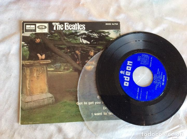 THE BEATLES ELEANOR RIGBY 45 RPM DSOE 16.704 DISCO (Música - Discos - Singles Vinilo - Pop - Rock Extranjero de los 50 y 60)