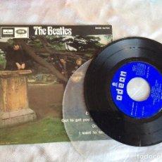 Discos de vinilo: THE BEATLES ELEANOR RIGBY 45 RPM DSOE 16.704 DISCO. Lote 93329035
