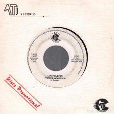 Discos de vinilo: LOS RELEVOS PREFIERO MATARTE / SINGLE DE 1991 RF-2853. Lote 93339310