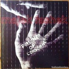 Discos de vinilo: MAJEK FASHEK : PRISONER OF CONSCIENCE [USA 1989]. Lote 93356460