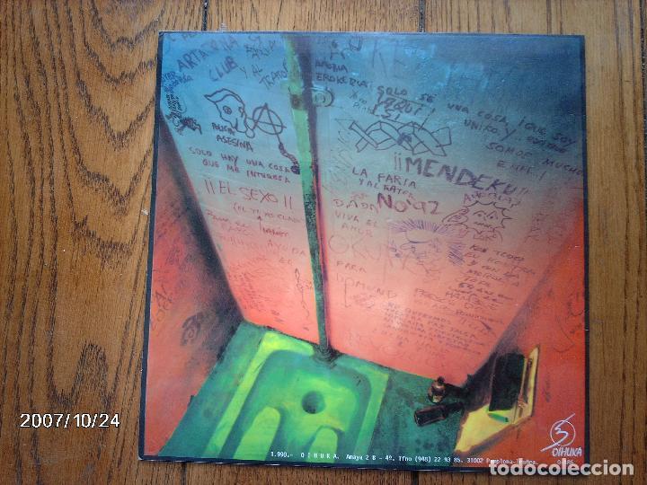 Discos de vinilo: la polla records - ellos dicen mierda nosotros amen - Foto 2 - 93356595