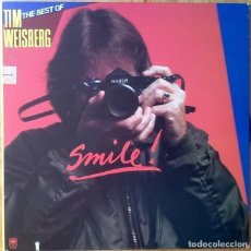 Disques de vinyle: TIM WEISBERG : SMILE! - THE BEST OF TIM WEISBERG [USA 1982]. Lote 93357505