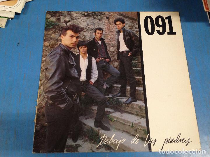 LP DISCO VINILO 091 DEBAJO DE LAS PIEDRAS (Música - Discos - LP Vinilo - Grupos Españoles de los 70 y 80)