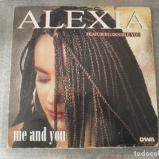 Discos de vinilo: ALEXIA FEATURING DOUBLE YOU - ME AND YOU 12'' DISCO DE VINILO. Lote 93378245