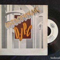 Discos de vinilo: INSSOMNIAK D.J.P.C. (MAX) SINGLE ESPAÑA. Lote 93378545