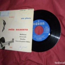 Discos de vinilo: JOAO GILBERTO - MEDITAÇAO + 3 (EP DE 4 CANCIONES) EMI 1963 SPAIN. Lote 93386300
