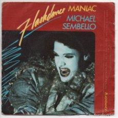Discos de vinilo: MICHAEL SEMBELLO - MANIAC - SINGLE CASABLANCA - 812 516-7 - ESPAÑA 1983. Lote 93390515