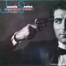 Discos de vinilo: JOAQUÍN SABINA. RULETA RUSA. ARIOLA, SPAIN 1984 LP COMO NUEVO. Lote 93391320