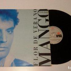 Discos de vinilo: MANGO - FLOR DE VERANO (ITALIANO). Lote 93393535