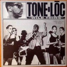 Discos de vinilo: TONE LOC : WILD THING [ESP 1989]. Lote 93398845
