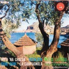 Discos de vinilo: MELO CARUSO, COMPLESSO CARATTERISTICO FELICIOTTO - VITTI 'NA CROZZA . SINGLE . ITALY. Lote 93404225