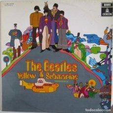 Discos de vinilo: BEATLES, THE: YELLOW SUBMARINE - ESTÉREO. Lote 93435325
