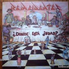 Discos de vinilo: REINCIDENTES - ¿DONDE ESTA JUDAS?. Lote 103767768