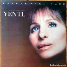 Discos de vinilo: BARBRA STREISAND : BSO YENTL [ESP 1983] LP/GAT. Lote 93534235