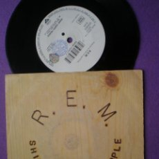 Discos de vinilo: R.E.M. - SHINNY HAPPY PEOPLE / FORTY SECOND SONG - SINGLE WB 1991. Lote 93558180