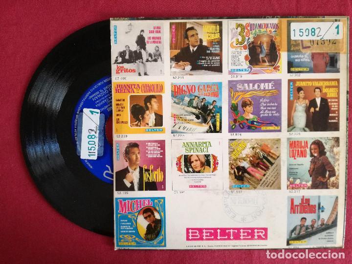 Discos de vinilo: PACO GUZMAN, FANDANGOS (BELTER) SINGLE EP - MOMENTO FLAMENCO + 3 - Foto 2 - 93583170