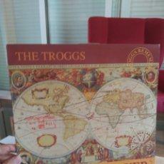 Discos de vinilo: THE TROGGS ED. UK ESSLP180 ATHENS AND OVER (R.E.M. Y DB'S PARTICIPAN) CON LETRAS Y NOTA DE PRENSA. Lote 79560381